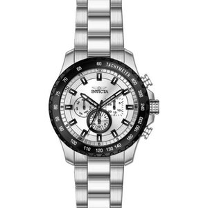 腕時計 インヴィクタ インビクタ メンズ Invicta Men's Speedway Quartz Silver Dial Multifunction Watch 24211|aurora-and-oasis