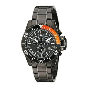 腕時計 インヴィクタ インビクタ メンズ Invicta Men's Pro Diver Chronograph Black Stainless Steel Watch 11290|aurora-and-oasis