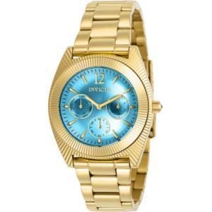 腕時計 インヴィクタ インビクタ レディース Invicta Women's Angel Chronograph 100m Gold Tone Stainless Steel Watch 23753 aurora-and-oasis