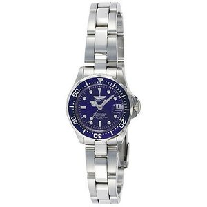 腕時計 インヴィクタ インビクタ レディース Invicta Women's Pro Diver Quartz 200m Silver Tone Stainless Steel Watch 9177 aurora-and-oasis
