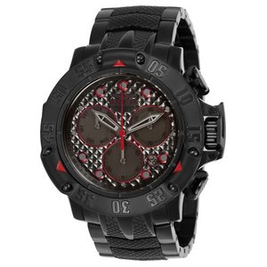 腕時計 インヴィクタ インビクタ メンズ Invicta Men's Subaqua Quartz Chronograph Gunmetal Dial Watch 23809|aurora-and-oasis