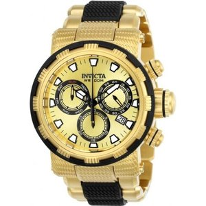 腕時計 インヴィクタ インビクタ メンズ Invicta Men's Specialty Quartz Chronograph Gold Dial Watch 23978|aurora-and-oasis