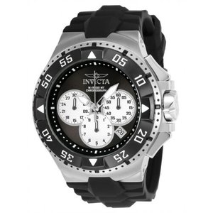 腕時計 インヴィクタ インビクタ メンズ Invicta Men's Excursion Quartz Chronograph Black, Silver Dial Watch 23045|aurora-and-oasis