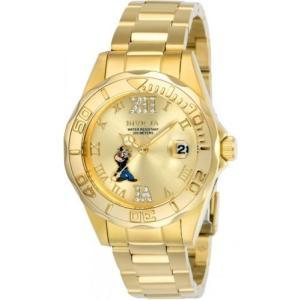 腕時計 インヴィクタ インビクタ レディース Invicta Women's Character Quartz Gold Tone Stainless Steel 100m Watch 24473 aurora-and-oasis