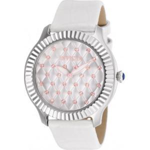腕時計 インヴィクタ インビクタ レディース Invicta Women's Angel 100m Stainless Steel White Leather Watch 25744 aurora-and-oasis