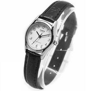 腕時計 カシオ レディース Casio Women's Dress Watch with Leather Band  LTP1094E-7 aurora-and-oasis