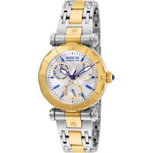 腕時計 インヴィクタ インビクタ レディース Invicta Women's Subaqua Chrono Quartz 100m Two Tone Stainless Steel Watch 24464 aurora-and-oasis