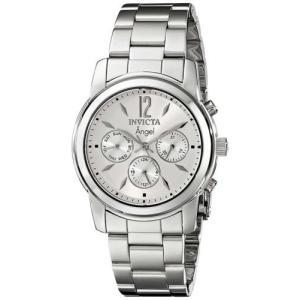 腕時計 インヴィクタ インビクタ レディース Invicta Women's Angel Chronograph 50m Quartz Stainless Steel Watch 0461 aurora-and-oasis