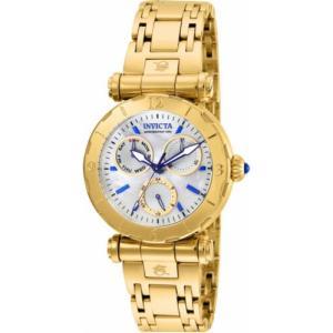 腕時計 インヴィクタ インビクタ レディース Invicta Women's Subaqua Chrono Quartz 100m Gold Tone Stainless Steel Watch 24428 aurora-and-oasis