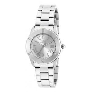 腕時計 インヴィクタ インビクタ レディース Invicta Women's Angel Quartz Crystal Accented Stainless Steel Watch 19255 aurora-and-oasis