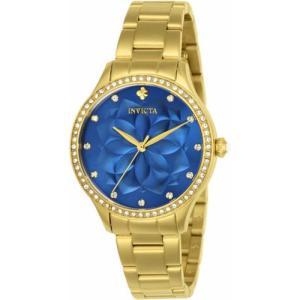 腕時計 インヴィクタ インビクタ レディース Invicta Women's  Wildflower Quartz 100m  Gold Tone Stainless Steel Watch 24537 aurora-and-oasis