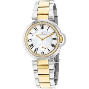 腕時計 クリスチャンヴァンサント レディース Christian Van Sant Women's Cybele Chrono Two Tone Stainless Steel Watch CV0233|aurora-and-oasis