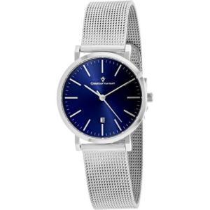 腕時計 クリスチャンヴァンサント レディース Christian Van Sant Women's Paradigm Quartz Stainless Steel Watch CV4220|aurora-and-oasis