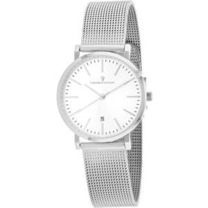 腕時計 クリスチャンヴァンサント レディース Christian Van Sant Women's Paradigm Quartz Stainless Steel Mesh Watch CV4223|aurora-and-oasis