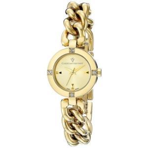腕時計 クリスチャンヴァンサント レディース Christian Van Sant Women's Sultry Quartz Gold Tone Stainless Steel Watch CV0215|aurora-and-oasis