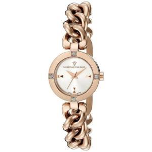腕時計 クリスチャンヴァンサント レディース Christian Van Sant Women's Sultry Rose Gold Tone Stainless Steel Watch CV0213|aurora-and-oasis