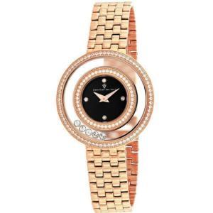 腕時計 クリスチャンヴァンサント レディース Christian Van Sant Women's Gracieuse Rose Gold Tone Stainless Steel Watch CV4833|aurora-and-oasis