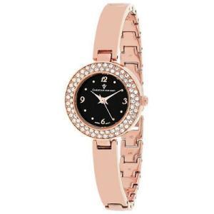 腕時計 クリスチャンヴァンサント レディース Christian Van Sant Women's Palisades Rose Gold Tone Stainless Steel Watch CV8615|aurora-and-oasis