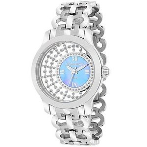 腕時計 クリスチャンヴァンサント レディース Christian Van Sant Women's Delicate Quartz Crystals Stainless Steel Watch CV4412 aurora-and-oasis
