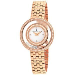 腕時計 クリスチャンヴァンサント レディース Christian Van Sant Women's Gracieuse Rose Gold Tone Stainless Steel Watch CV4832 aurora-and-oasis