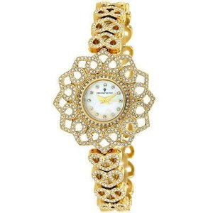 腕時計 クリスチャンヴァンサント レディース Christian Van Sant Women Chantilly Quartz Gold Tone Stainless Steel Watch CV4811 aurora-and-oasis