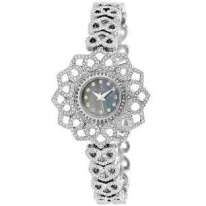 腕時計 クリスチャンヴァンサント レディース Christian Van Sant Women Chantilly Quartz Crystals Stainless Steel Watch CV4813 aurora-and-oasis