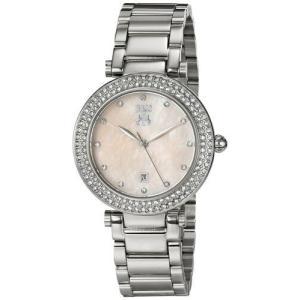 腕時計 ジバゴ レディース Jivago Women's Parure Quartz Crystals MOP Stainless Steel Watch JV5313 aurora-and-oasis