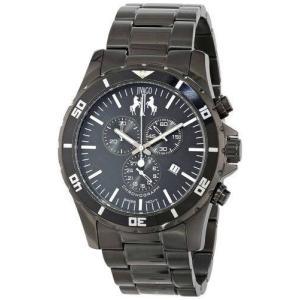 腕時計 ジバゴ メンズ Jivago Men's Ultimate Quartz Chrono 100m Black Stainless Steel Watch JV6120 aurora-and-oasis