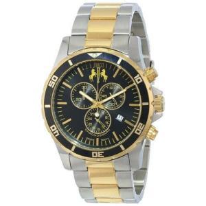 腕時計 ジバゴ メンズ Jivago Men's Ultimate Quartz Chrono 100m Two Tone Stainless Steel Watch JV6129 aurora-and-oasis