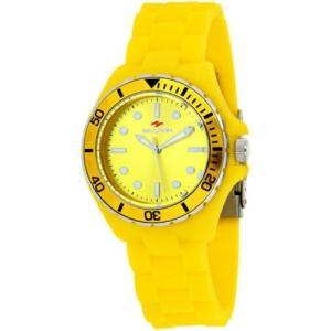 腕時計 シープロ レディース Seapro Women's Spring Swiss Quartz Yellow Plastic/Silicone Watch SP3210|aurora-and-oasis