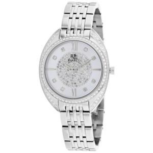 腕時計 ロベルトビアンキ レディース Roberto Bianci Women's Aveta Quartz Crystal Accents Stainless Steel Watch RB0210|aurora-and-oasis