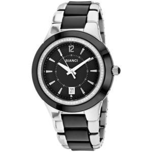 腕時計 ロベルトビアンキ レディース Roberto Bianci Women's Classico Stainless Steel/Black Ceramic Watch RB27100|aurora-and-oasis