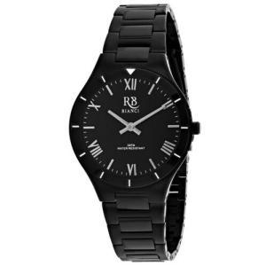 腕時計 ロベルトビアンキ レディース Roberto Bianci Women's Relic Automatic Black Stainless Steel Watch RB0410|aurora-and-oasis