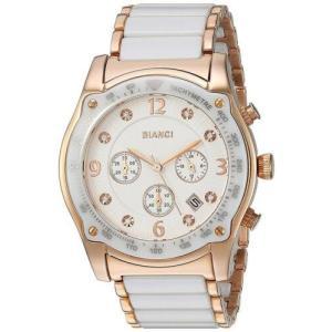 腕時計 ロベルトビアンキ レディース Roberto Bianci Women's Simona Chrono Stainless Steel/Ceramic Watch RB58741|aurora-and-oasis