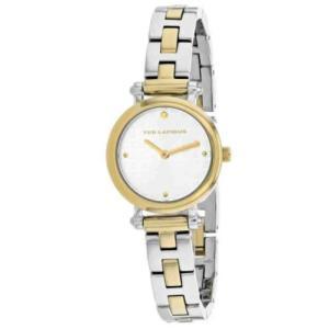 腕時計 テット ラピドス レディース Ted Lapidus Women's Classic Quartz Two Tone Stainless Steel Watch A0680BBPX|aurora-and-oasis