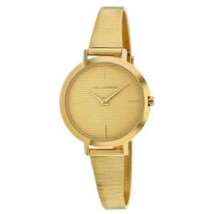 腕時計 テット ラピドス レディース Ted Lapidus Women's Classic Quartz Gold Tone Stainless Steel Watch A0712PYIX|aurora-and-oasis