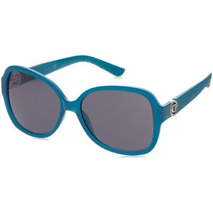 サングラス ゲス レディース Guess Women's Sunglasses, Turquoise Frame, Grey Lens GF0275-5887A|aurora-and-oasis