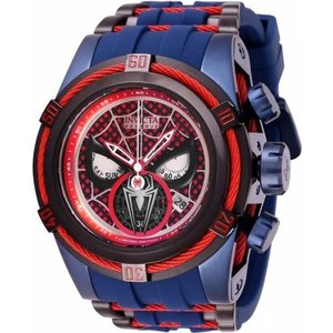 腕時計 インヴィクタ インビクタ メンズ Invicta Men's Marvel Quartz 200m Blue Stainless Steel/Silicone Watch 27048|aurora-and-oasis
