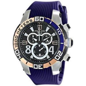 腕時計 マルコ レディース Mulco Women's Fondo wheel Stainless Steel Silicone Watch MW1-74197-044 aurora-and-oasis