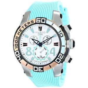 腕時計 マルコ レディース Mulco Women's Fondo wheel Stainless Steel Silicone Watch MW1-74197-413 aurora-and-oasis