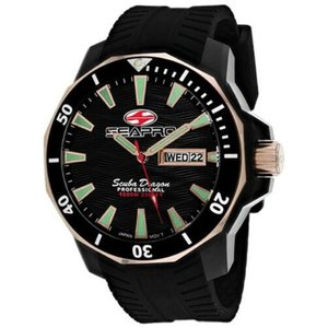 腕時計 シープロ メンズ Seapro Men's Scuba Dragon Diver Limited Edition Stainless Steel Watch SP8320|aurora-and-oasis