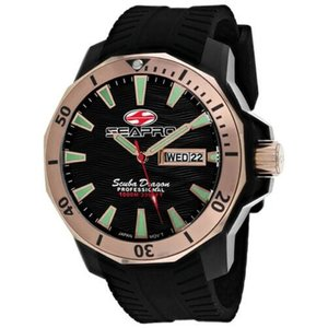 腕時計 シープロ メンズ Seapro Men's Scuba Dragon Diver Stainless Steel Watch SP8323|aurora-and-oasis