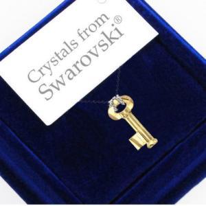 ネックレス スワロフスキー クリスタル キー Crystal Key To Open The Forest Necklace Crystals from Swarovski|aurora-and-oasis
