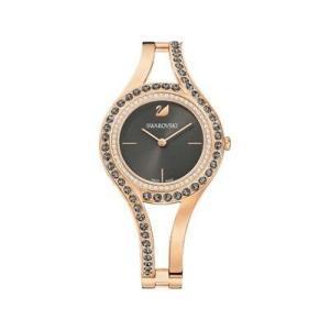 腕時計 スワロフスキー レディース Swarovski 5377551 Eternal Watch,Rose Gold Tone,Dark Grey, Size: 30mm 599|aurora-and-oasis