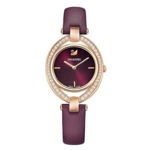腕時計 スワロフスキー レディース Swarovski 5376839 Stella Watch,Dark Red, Rose Gold Case Size: 35mm 449 Rose Gold|aurora-and-oasis
