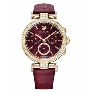 腕時計 スワロフスキー レディース Swarovski 5416701 Era Journey Watch, Swiss Made Red|aurora-and-oasis