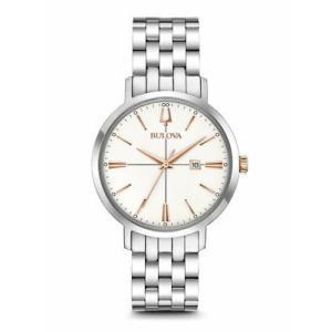 腕時計 ブローバ レディース Bulova 98M130 Aerojet Classics Women's Watch Silver 35mm Stainless Steel aurora-and-oasis