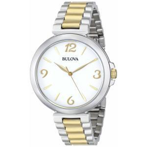 腕時計 ブローバ レディース Bulova Women's 98L194 Two Tone Bracelet Watch aurora-and-oasis