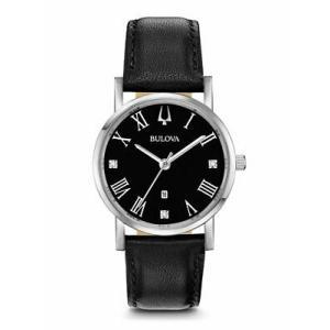 腕時計 ブローバ レディース Bulova 96P192 American Clipper Women's Watch Black 32mm Stainless Steel aurora-and-oasis