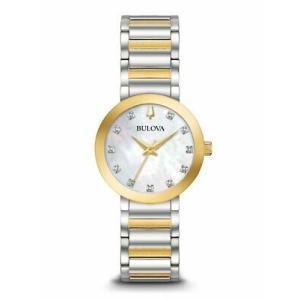 腕時計 ブローバ レディース Bulova 98P180 Modern Women's Watch Two-tone Silver/Gold 30mm Stainless Steel aurora-and-oasis
